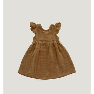 JAMIE KAY GOLDEN LACE DRESS 1 YEAR